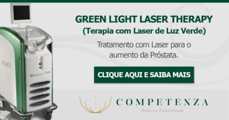 Green Light Laser Therapy - Tratamento com Laser para o aumento da Próstata.