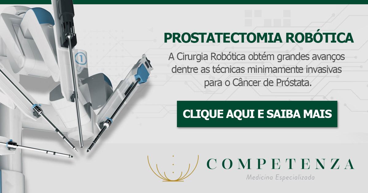 Prostatectomia Robótica - A Cirurgia Robótica obtém grandes avanços dentre as técnicas minimamente invasivas para o Câncer de Próstata.