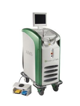 Foto da máquina utilizada para o tratamento green light therapy
