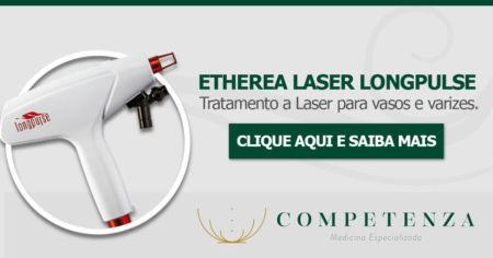 Etherea Laser LongPulse - Tratamento a laser de vasos e varizes